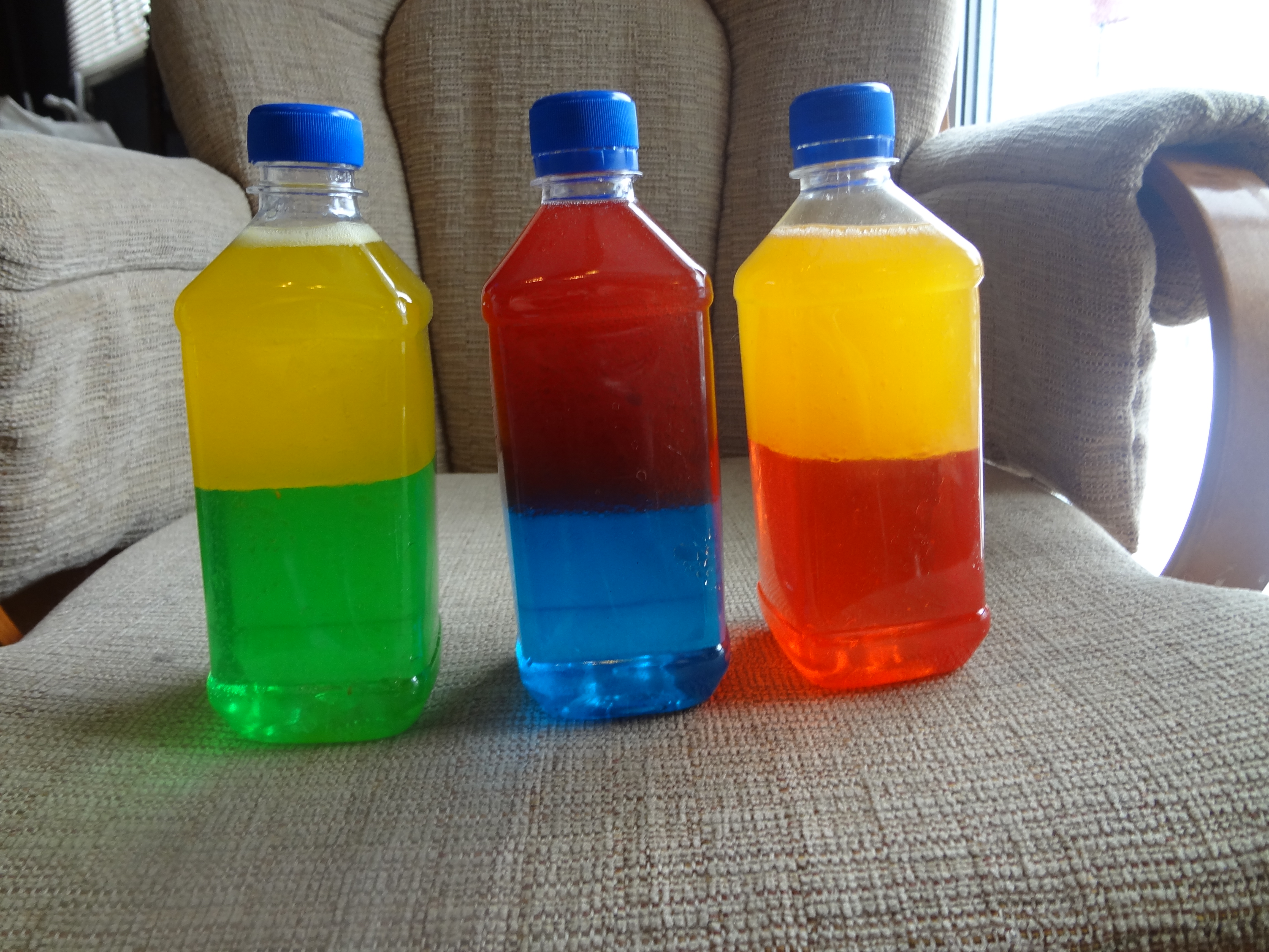 Colour Mixing Bottles | Excite and Explore
