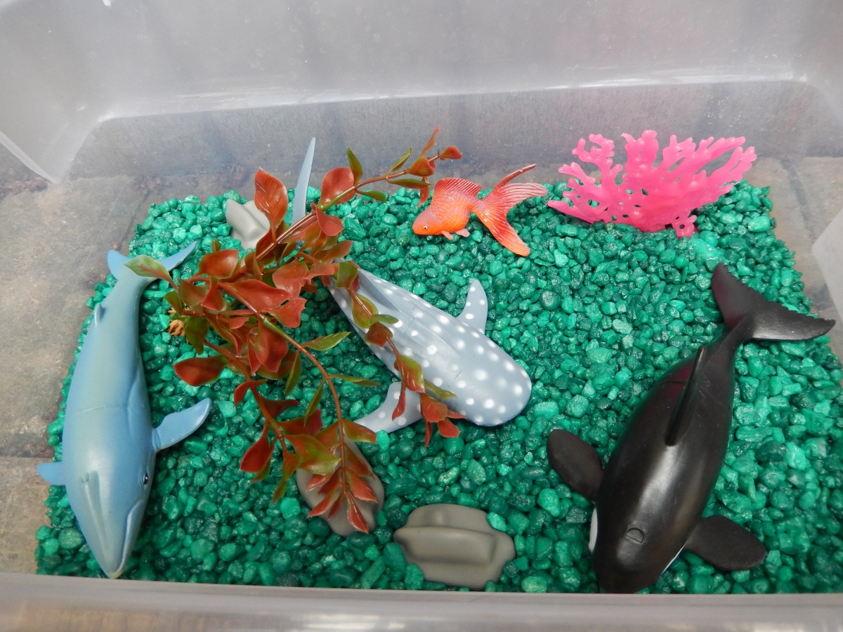Under the Sea Sensory Play