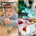 Fun activities using things you already have at home!