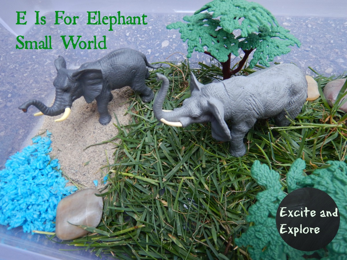 Learning Letter | E is for Elephant Small World